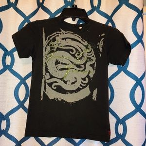 3 for $18 Guess Boys Dragon T-Shirt Size 7 EUC